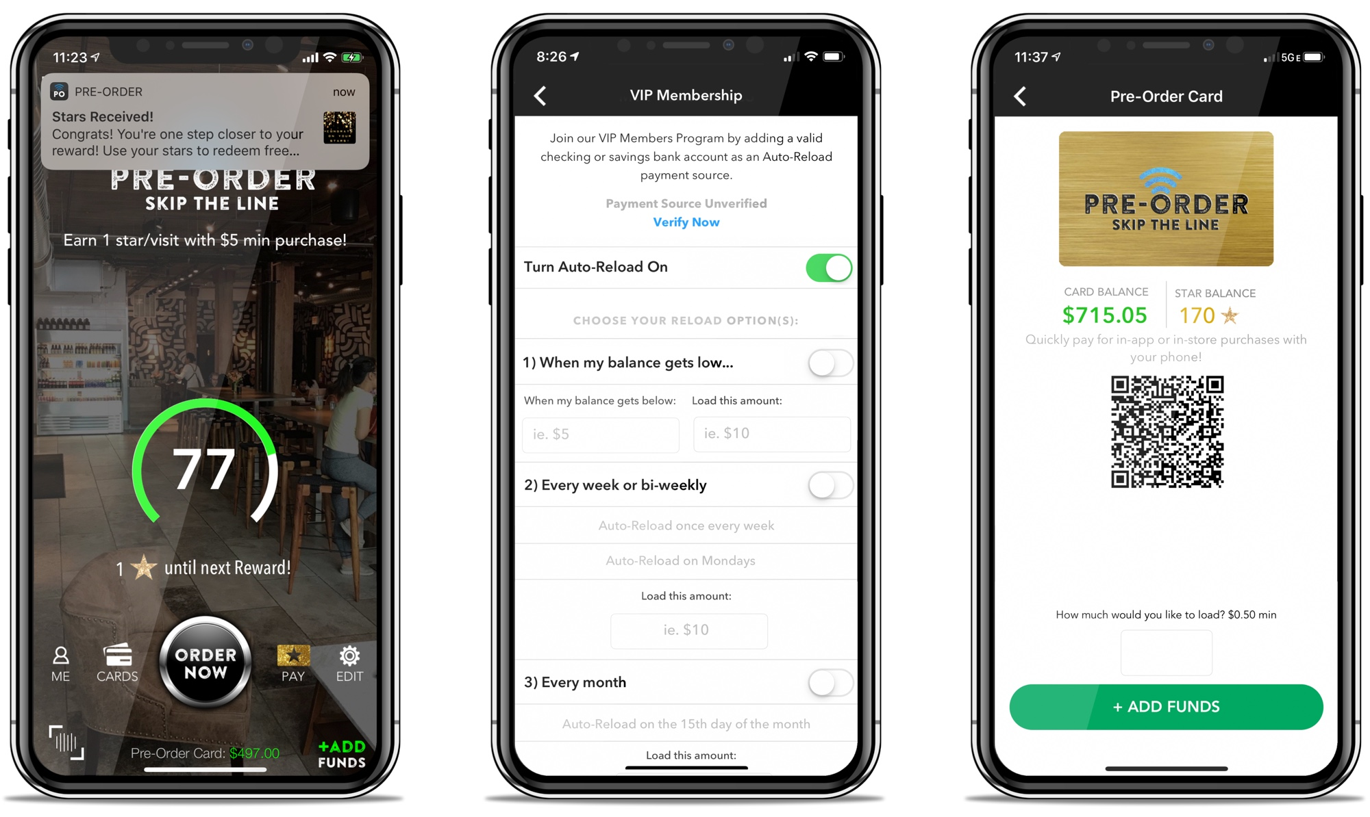 Pre-Order for Square Custom Mobile App