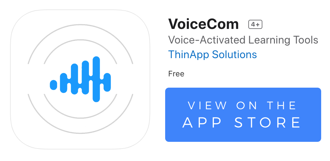 VoiceCom on the App Store