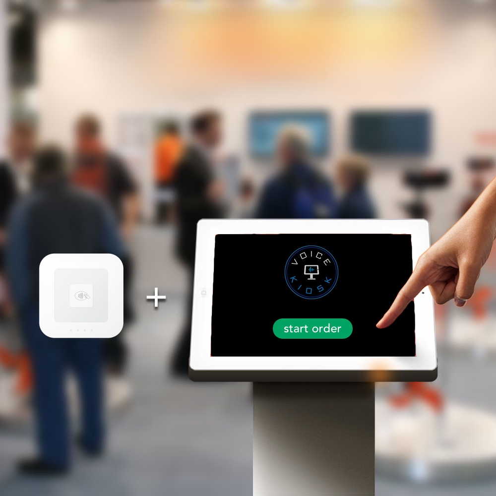 Voice Kiosk - Integrate Square Card Reader